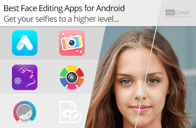 application retouche photo visage android