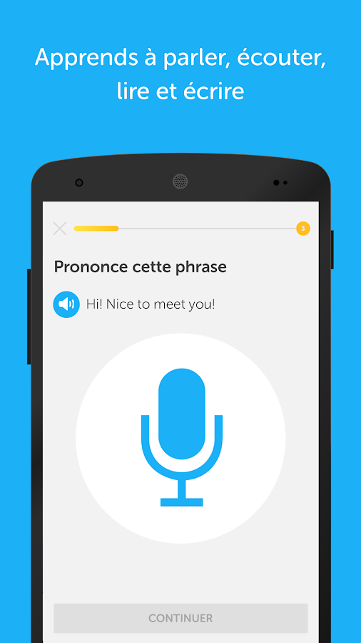 application android gratuite pour apprendre l italien