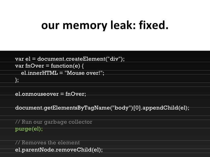 how to check memory leak in net application