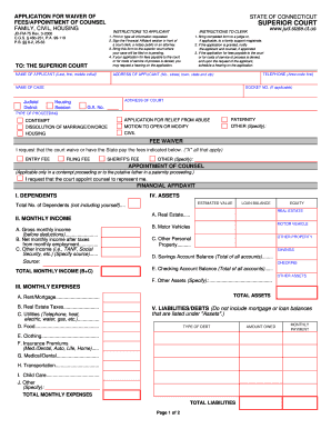 u of a application fee waiver