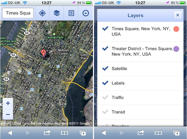 google maps application for mac