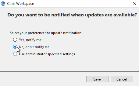 citrix receiver unable to launch your application