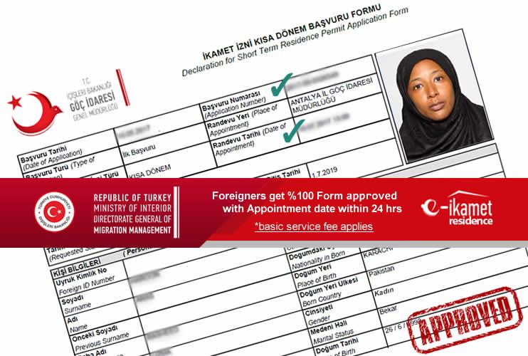 turkey visa application form for bangladeshi