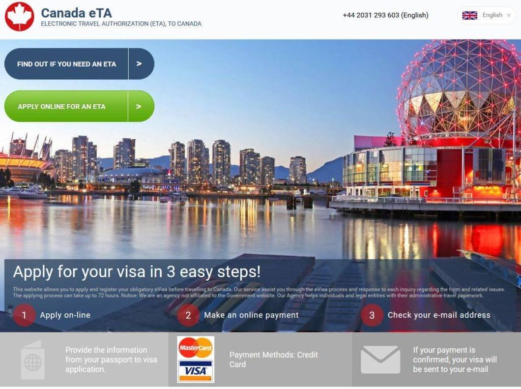 www canada visa application status