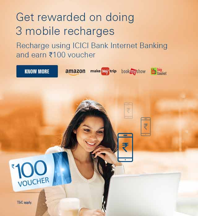 icici credit card application status by sms