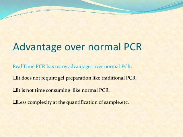 real time pcr and application ppt