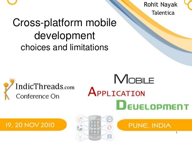 what is cross platform application development