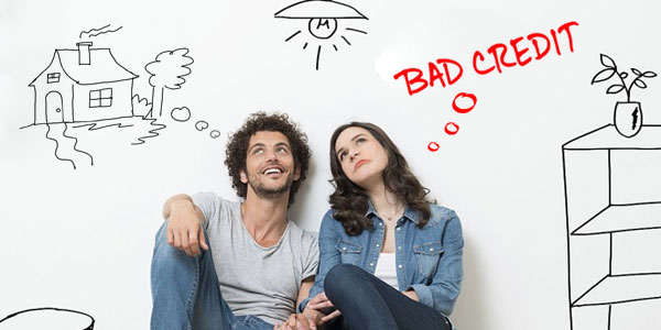 joint mortgage application one with bad credit