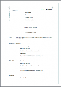 sample application letter for call center agent without experience pdf