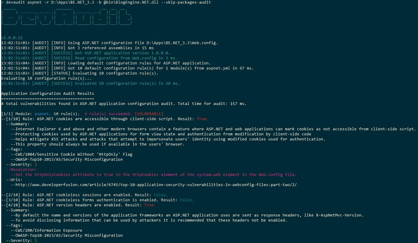 web application information disclosure vulnerability