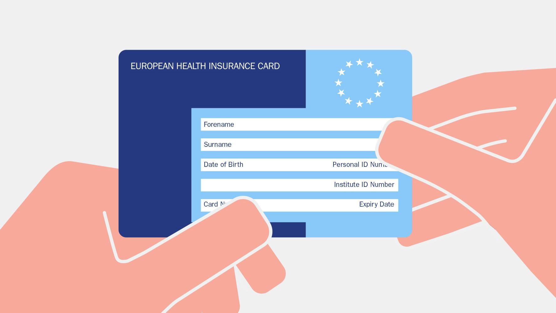 european health card application online