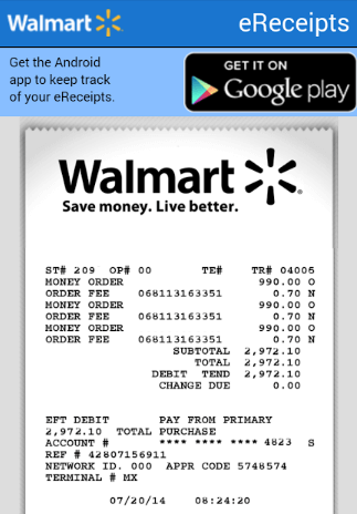 walmart com credit card application