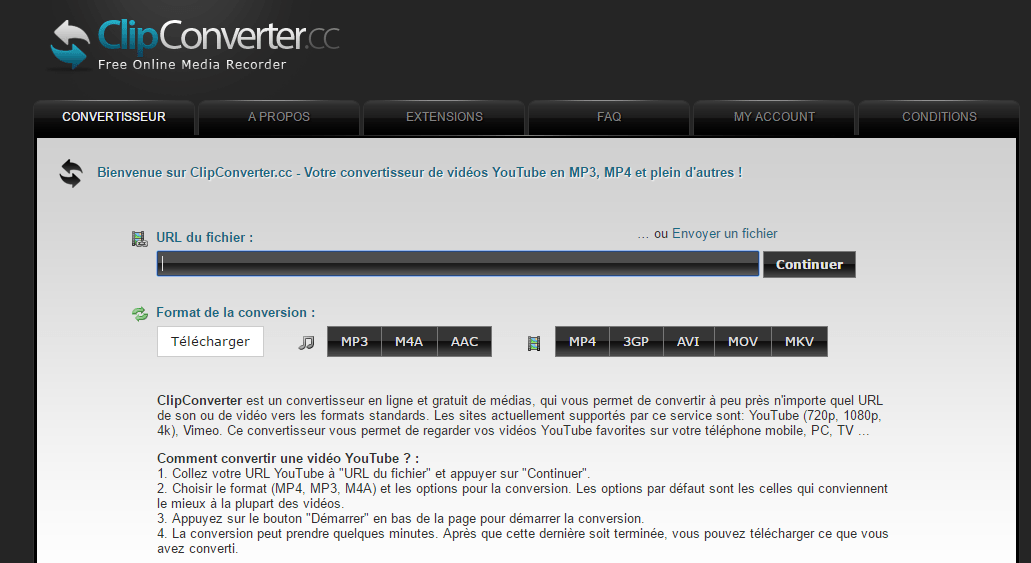 application pour telecharger video youtube gratuit