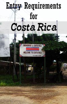 costa rica visa application form