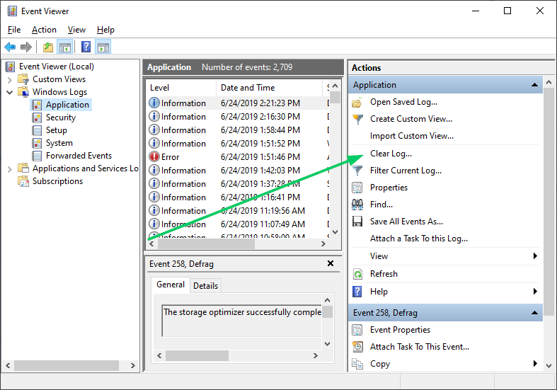 svchost exe application error windows 10