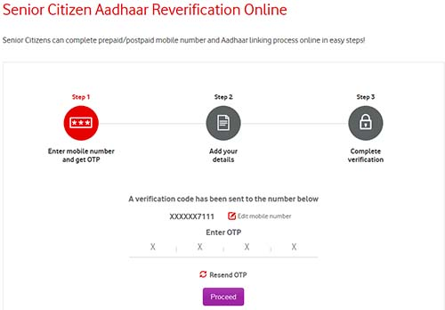 online application for senior citizen card