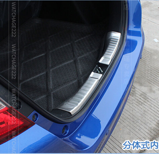 honda fit rear bumper applique