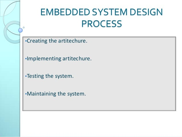 embedded systems in medical applications