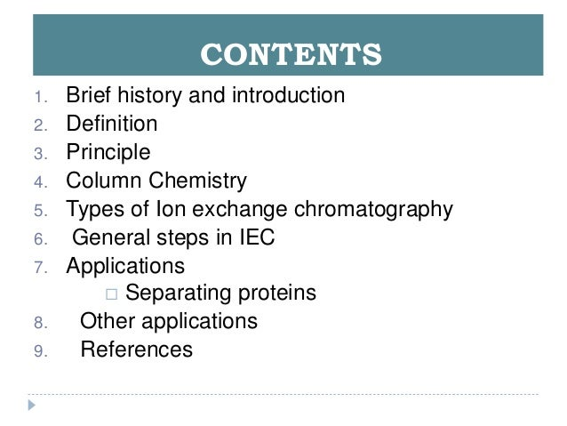 ion chromatography principles and applications