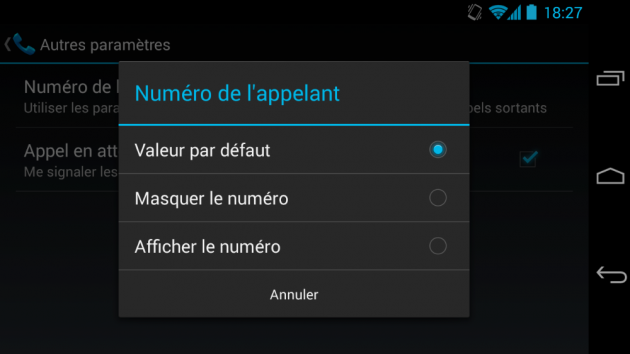 comment masquer des applications sur android