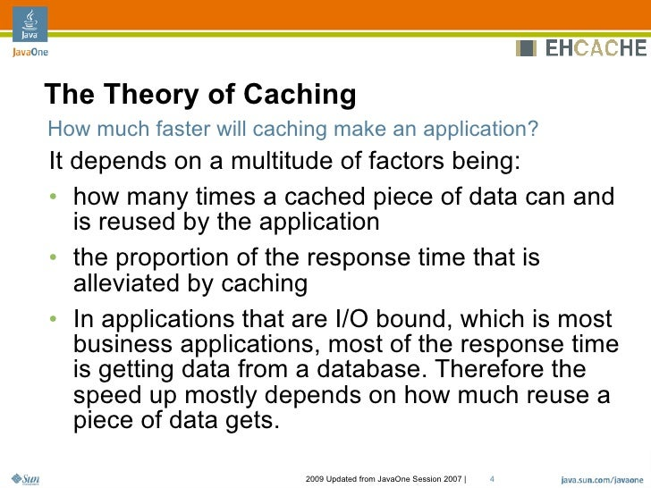 how to implement cache in java application