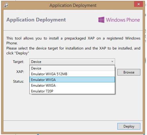 deploy windows form application visual studio 2013