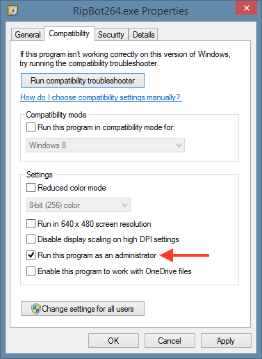 application compatibility manager windows 10
