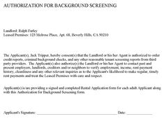 cover letter for lease application