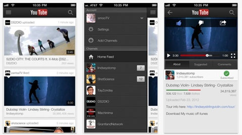 application telecharger video youtube ipad