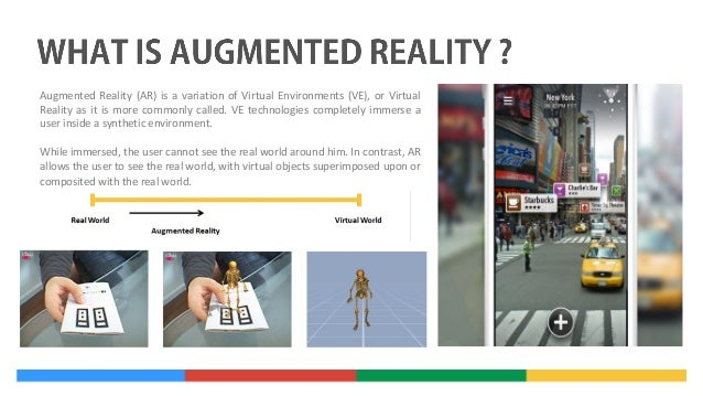 virtual and augmented reality applications