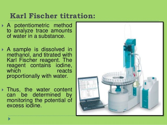 application of titration in industry