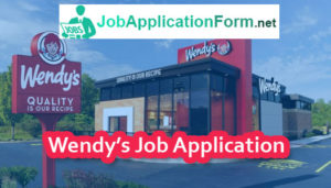 wendys application online for employment