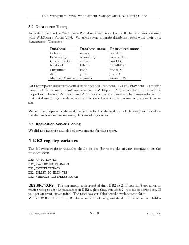 websphere application server data source properties