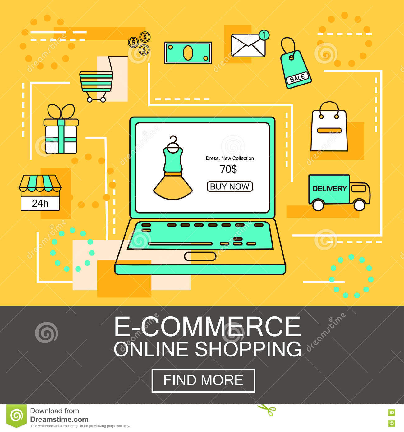 business application of e commerce