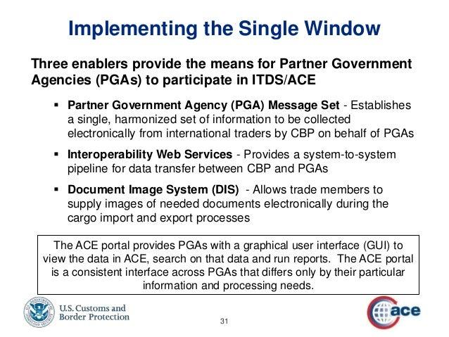 ace secure data portal application