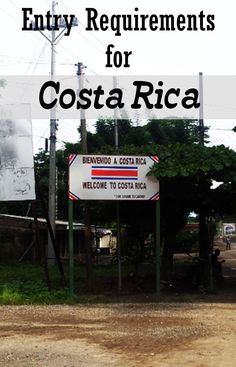 costa rica visa application form