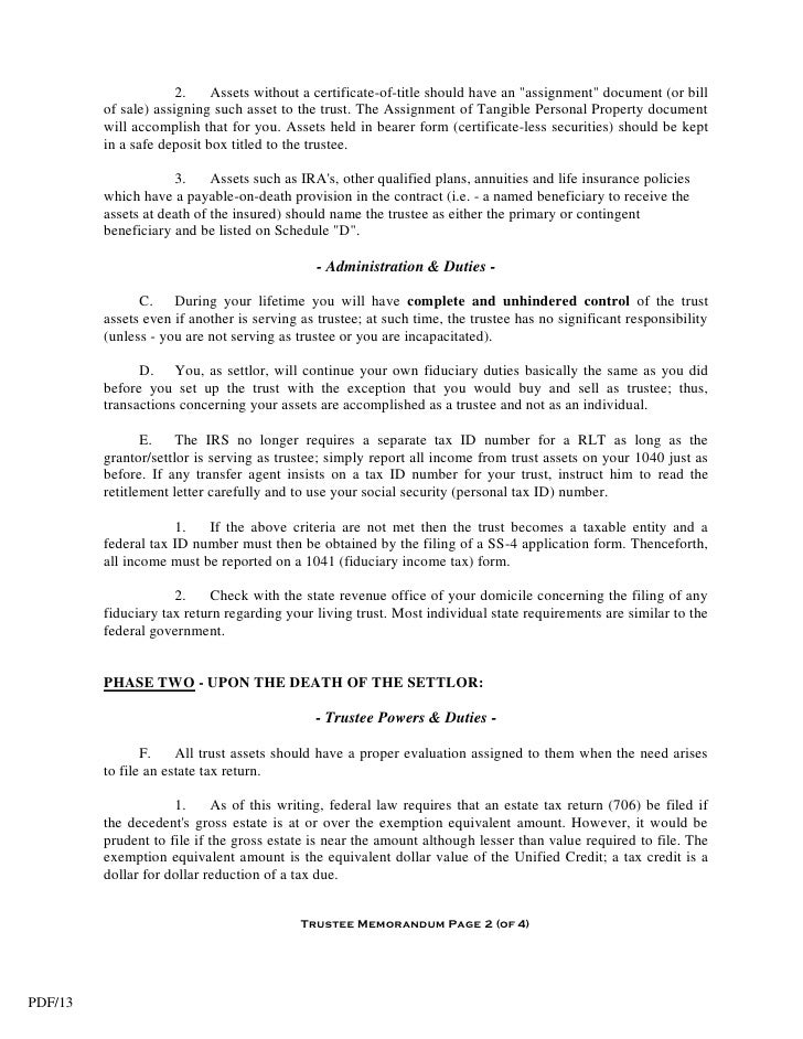 application for estate trustee without a will