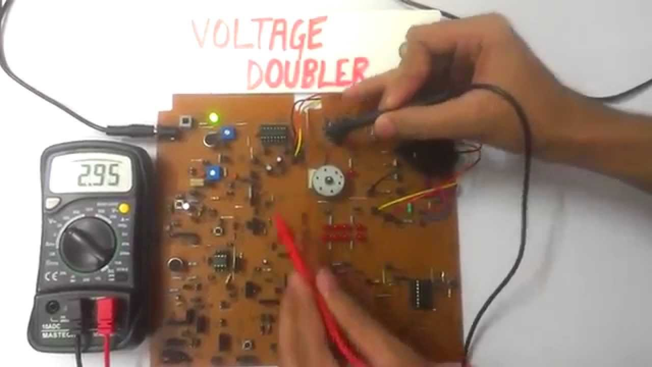 applications of voltage doubler using 555