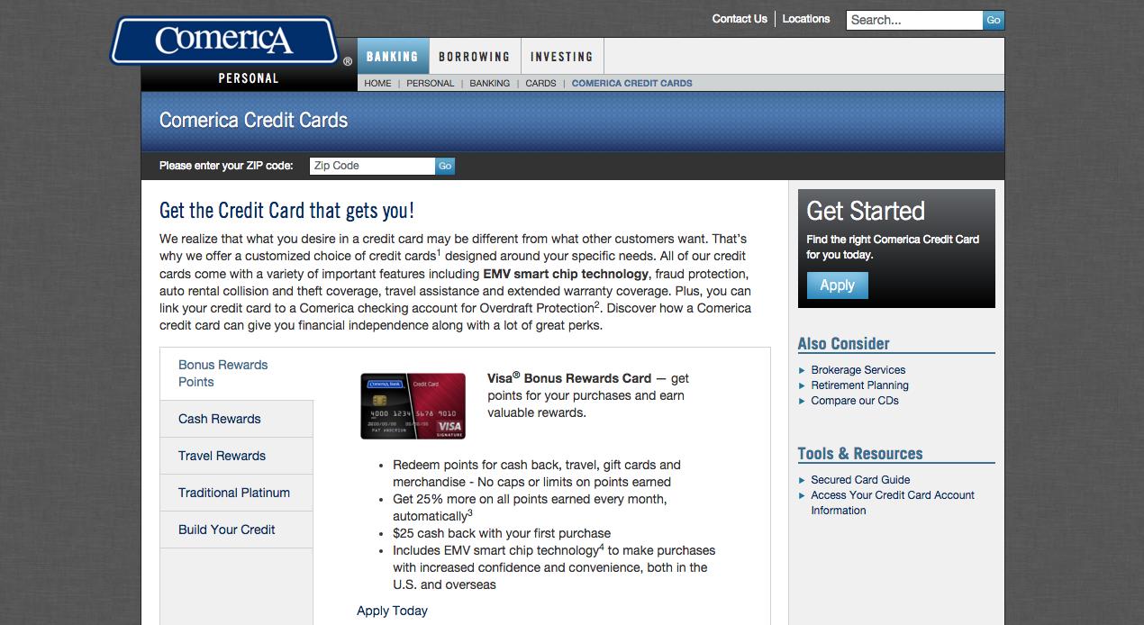 aspire visa credit card application