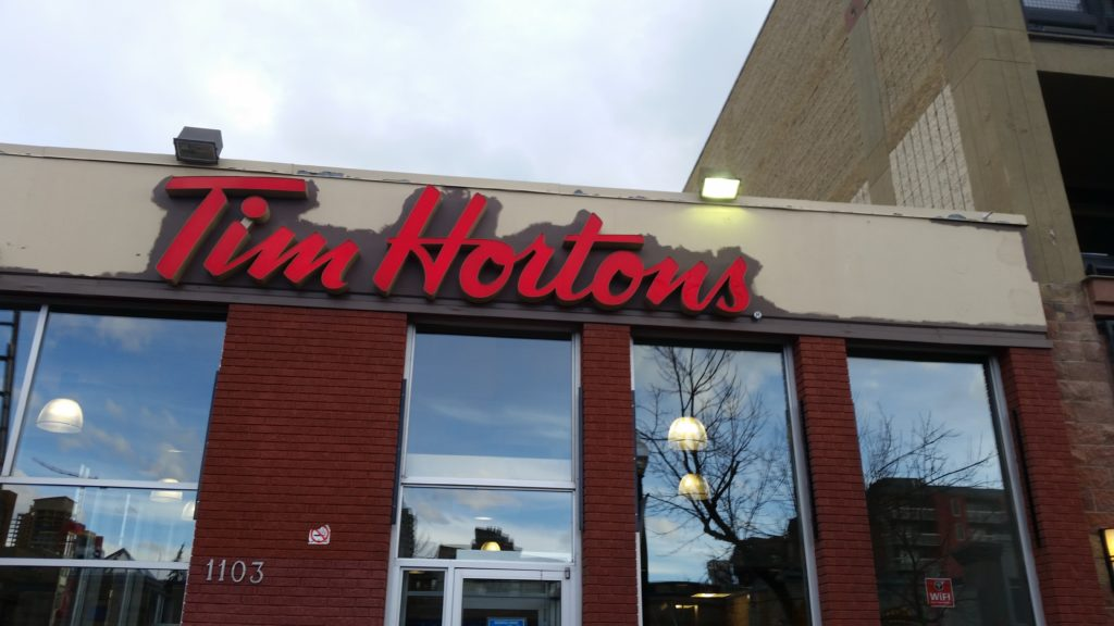 tim hortons canada job application