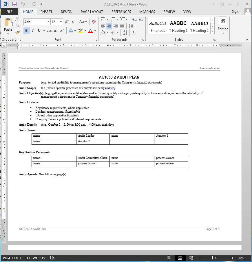 examples of financial application software