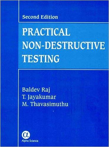 non destructive testing methods and applications pdf