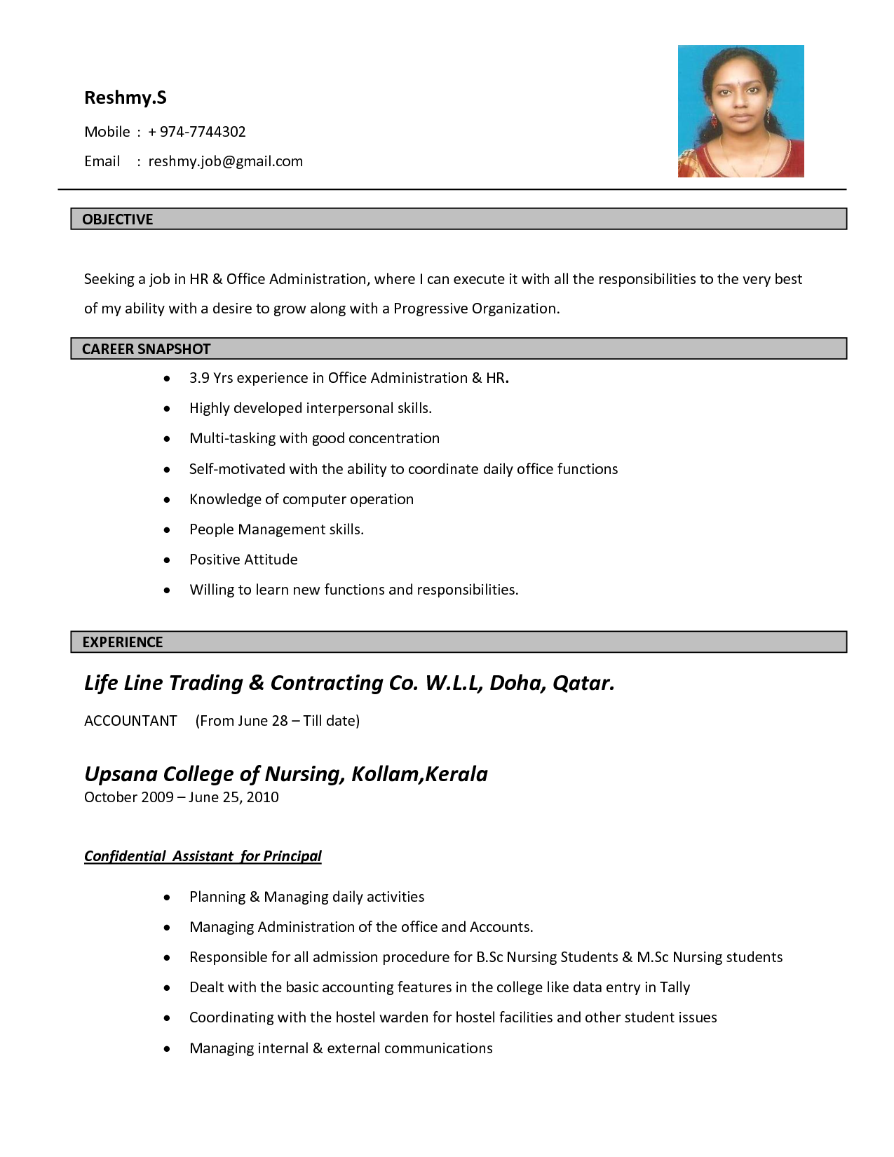 how to make a resume for job application sample