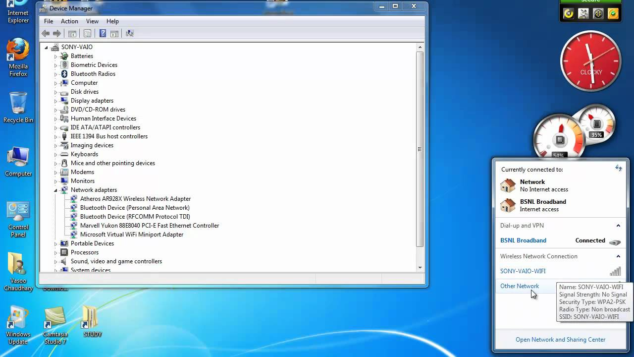 bluetooth application for windows 7