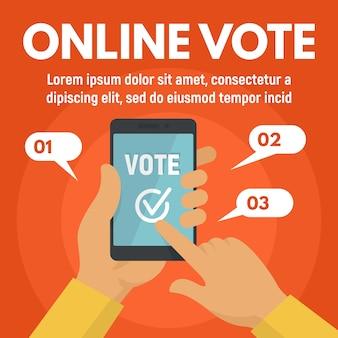 application de vote en ligne