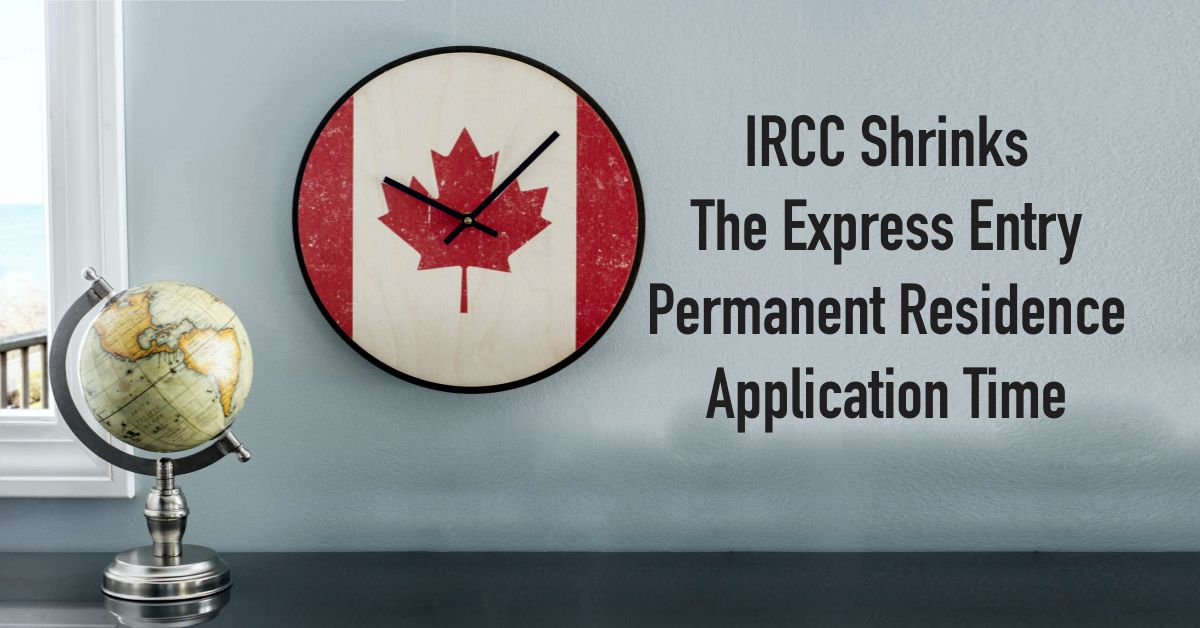 canada permanent resident application time