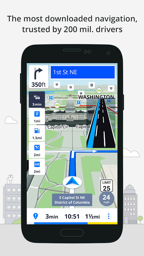 application gps sans internet android