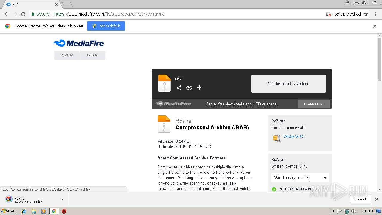 chrome exe application error 0xc0000005