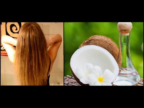 comment appliquer l huile de coco sur les cheveux