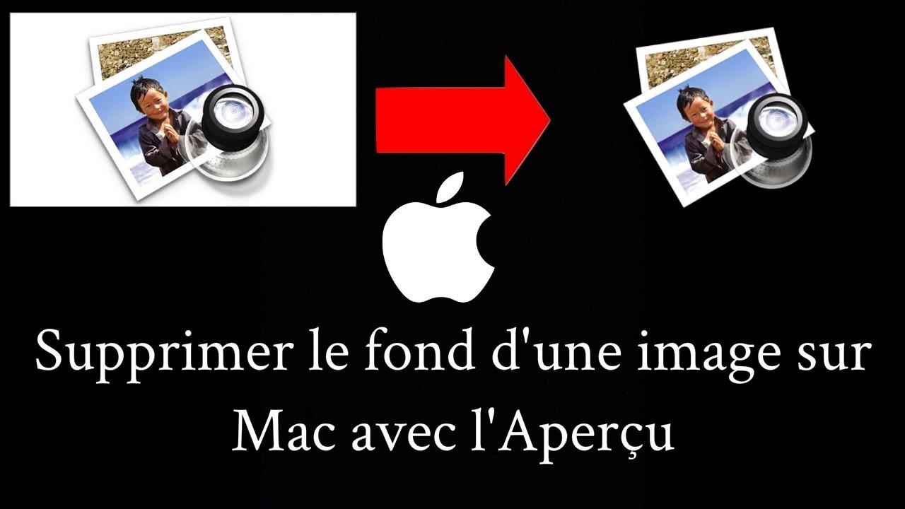 comment supprimer une application mac